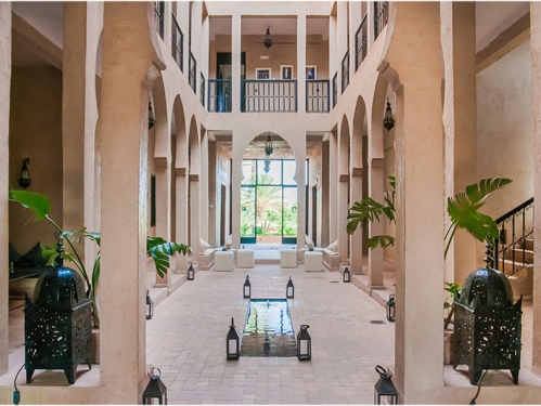 Lobby Hotel Ouarzazate