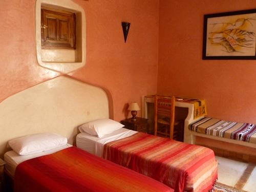 Hotelzimmer in Ait Benhaddou