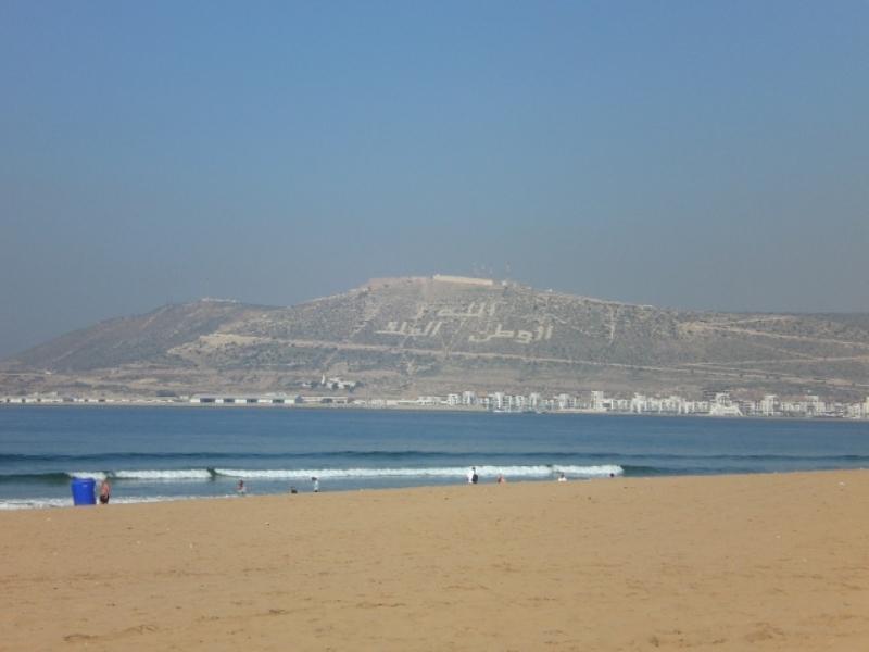 Strand Agadir Familienreise Marokko