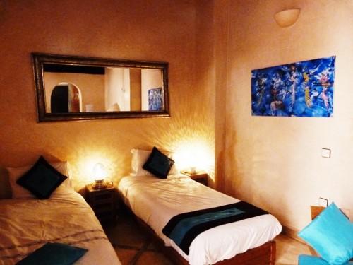 Marrakesch mit Kindern Riad Marrakesch Hotelzimmer Marokko