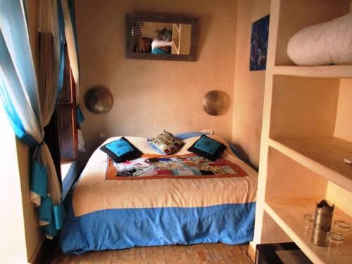 Marrakesch mit Kindern Zimmer Riad Marrakesch Marokko Reise