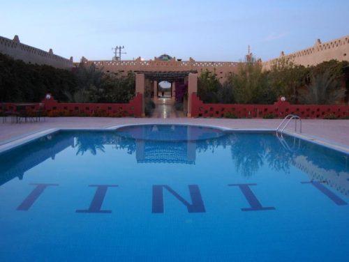 Pool in Errachidia Hotel