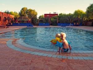 Pool im Hotel in Errachidia
